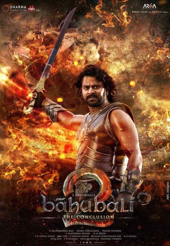 Image result for baahubali 2 the conclusion poster
