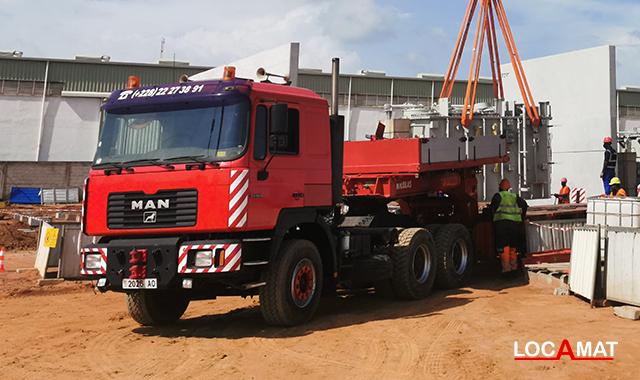 Camion MAN 33.464 6x2 Lomé Togo Ouest Afrique