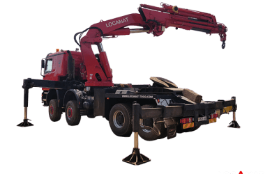 Camion Mercedes ACTROS 8×8 – 115T