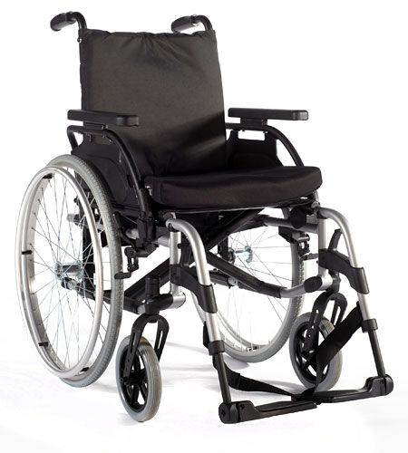 fauteuil roulant pliant basix 2 dossier inclinable