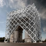 """L'Arc de triomphe portera une """"armure de protection"""" pour la manifestation des Gilets Jaunes de samedi prochain"""