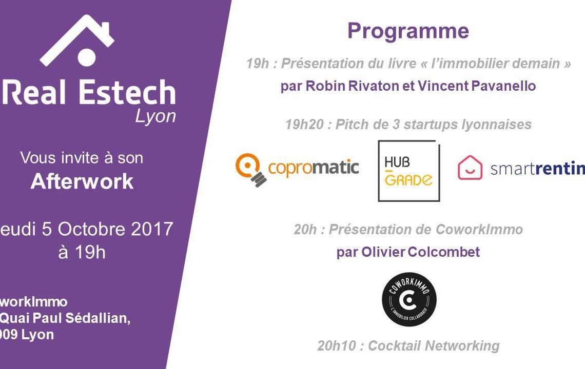 Event ✐????- L'afterwork Real Estech avec Hub-Grade à Lyon