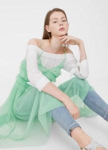vestido tul mango by Loca por la Moda