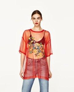 camiseta tul by Loca por la moda