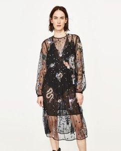 vestido tul zara by Loca por la Moda