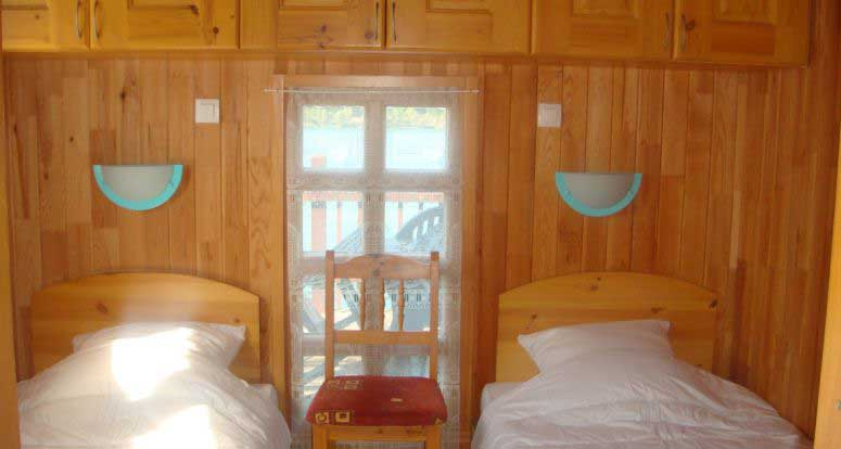 Chalet 7 - Chambre