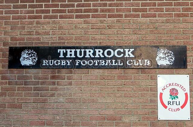 Thurrock Rugby Football Club sign