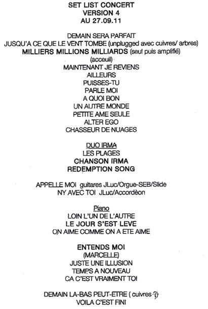 Jean-louis Aubert Puisses Tu : jean-louis, aubert, puisses, Jean-Louis, Aubert, Concert, Eclair