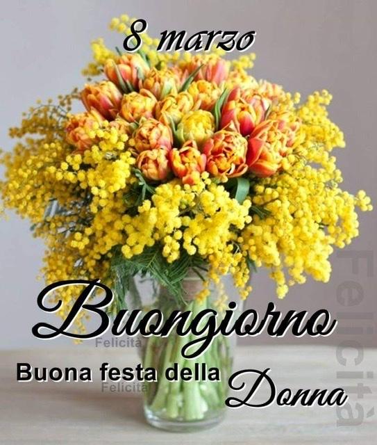 Festa della Donna : Buon 8 Marzo