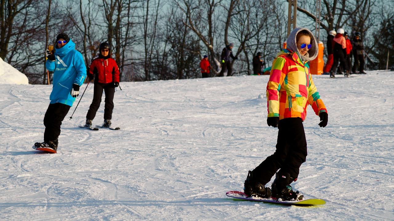 Hiver-snowboard