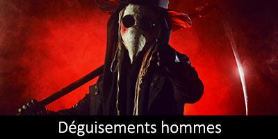 Vente et location déguisements homme Halloween
