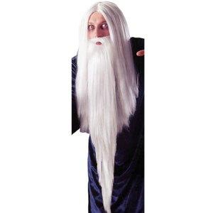 Barbe de mage blanche