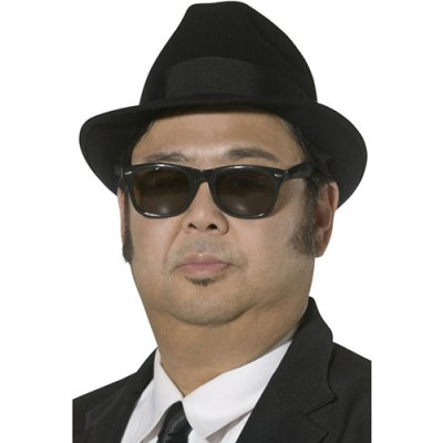 Chapeau Blues Brothers noir