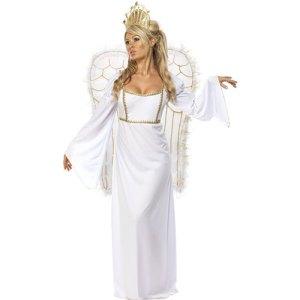 Costume femme ange raffiné