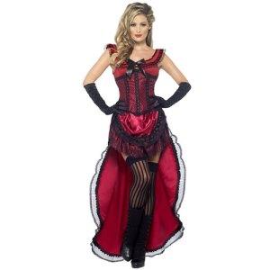 Costume femme Authentic Western danseuse de cabaret