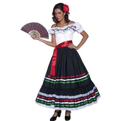 Costume femme Authentic Western Senorita