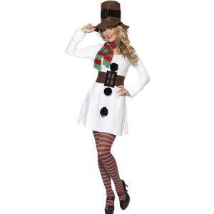 Costume femme bonhomme de neige