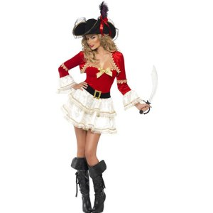 Costume femme capitaine pirate sexy