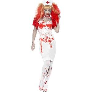 Costume femme infirmière ensanglantée