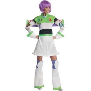 Costume femme miss Buzz l'éclair licence