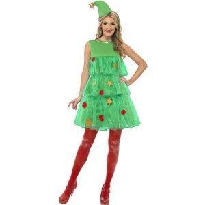 Costume femme sapin de Noël