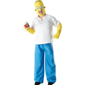 Costume homme Homer Simpson licence