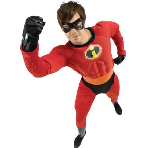 Costume homme Monsieur Indestructible licence