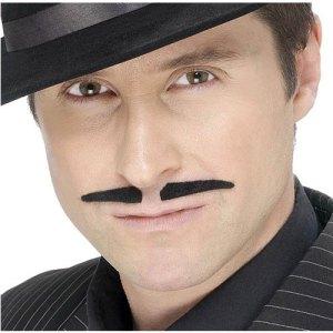 Moustache latino noire