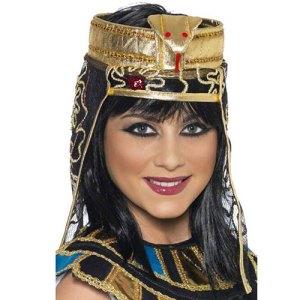 Coiffe égyptienne reine du Nil