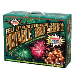 Feu d'artifice total portable 180 série II - Acheter feux d'artifice Paris
