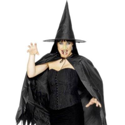Kit sorcière noire adulte - Accessoires déguisement