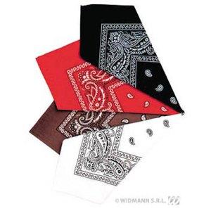 Bandana différents coloris à motifs