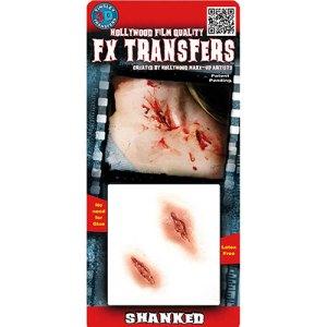 Plaies ensanglantées Transfert 3D