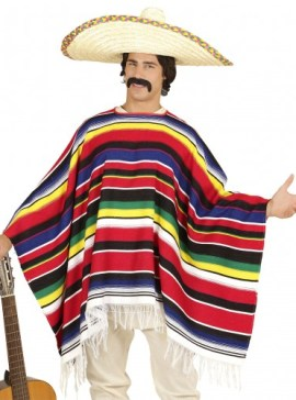costume-homme-poncho-mexicain