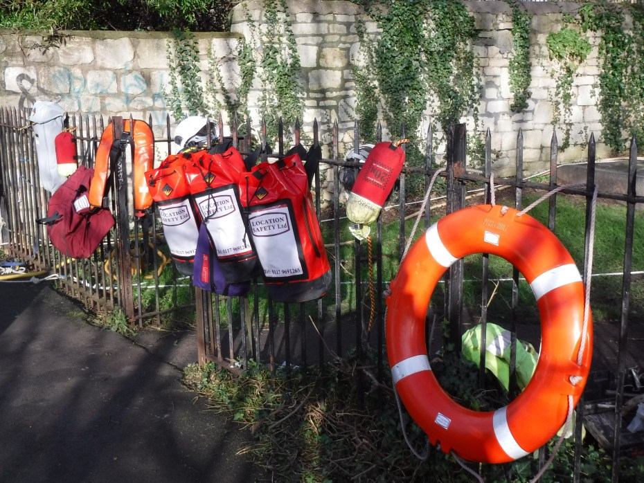 Bath riverside water safety kit - Location Safety ltd - Film, TV and Media Safety Specialists