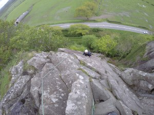 AG - climbing - snowdonia - location safety ltd - Film, TV and Media Safety Specialists