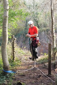 rigging cliff edge quarry 2- location safety ltd - Film, TV and Media Safety Specialists