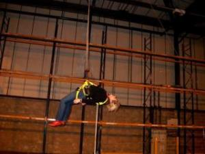 actor suspension - work positioning - location safety ltd - Film, TV and Media Safety Specialists