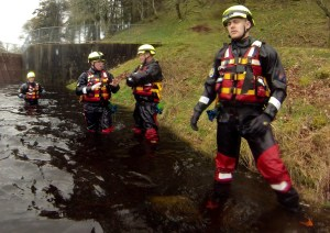 bankside safety - filming - rescue swimmer - water safety and rescue - location safety ltd