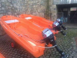 safety boats - bankside safety - filming - rescue boat - water safety and rescue - location safety ltd