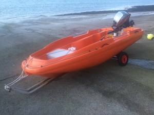 safety boat - bankside safety - filming - rescue boat - water safety and rescue - location safety ltd