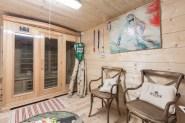 sauna chalet Saint Gervais