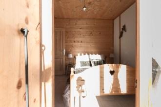Chambre appartement location Saint Gervais