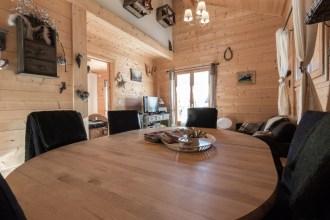 Pièce à vivre appartement location Saint Gervais