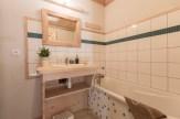 salle de bain appartement location Saint Gervais