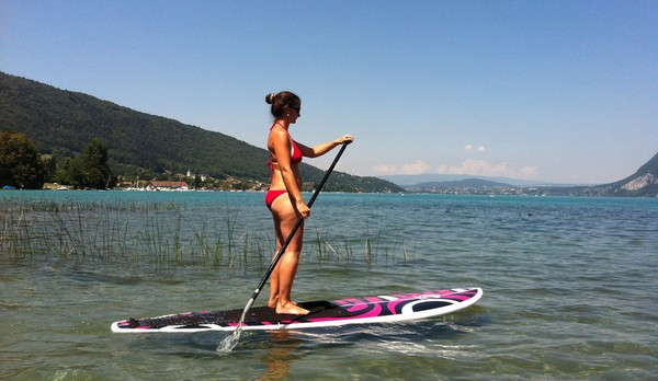 Enbata chika test stand up paddle annecy