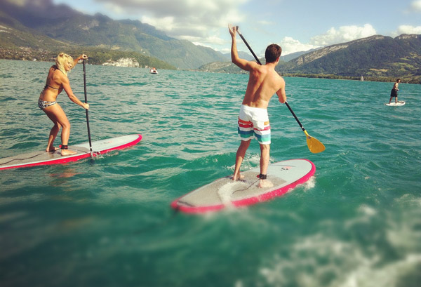 stand up paddle downsession