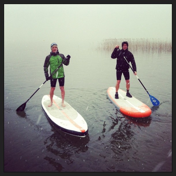 test stand up paddle gonflable AIO