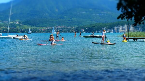 week-end paddle annecy