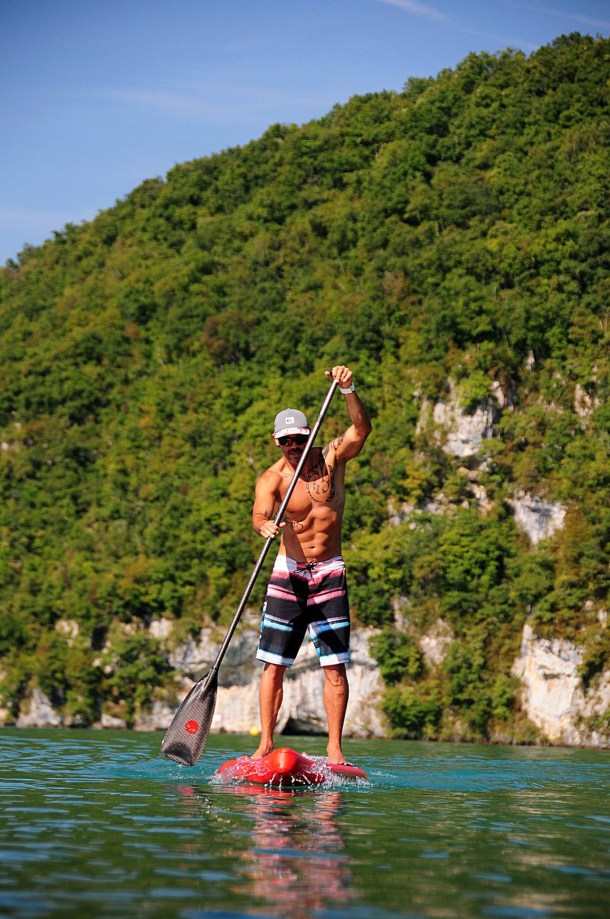 Paddle Fitness Lac Annecy
